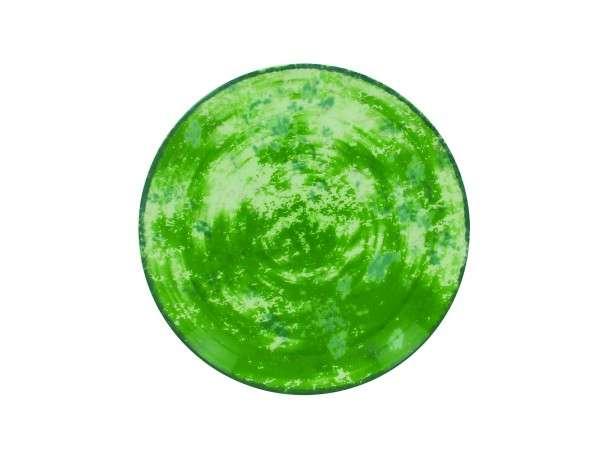 TELLER FLACH 27 CM - GREEN