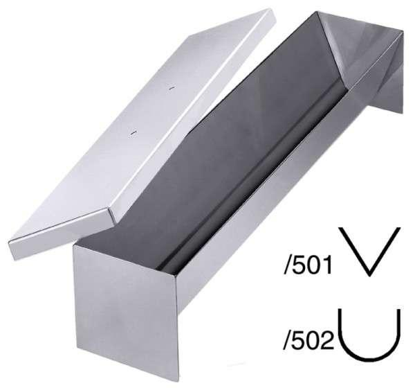 PASTETENFORM HALBRUND, Länge: 50 cm
