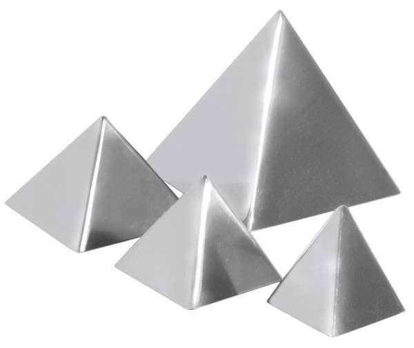 PYRAMIDE 6 X 6 CM Fläche: 6 cm x 6 cm