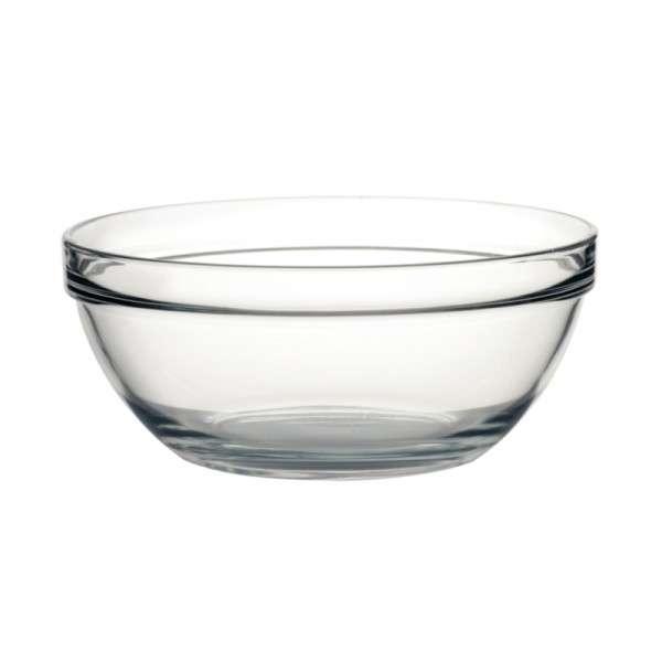 Salatschale aus Glas 26cm