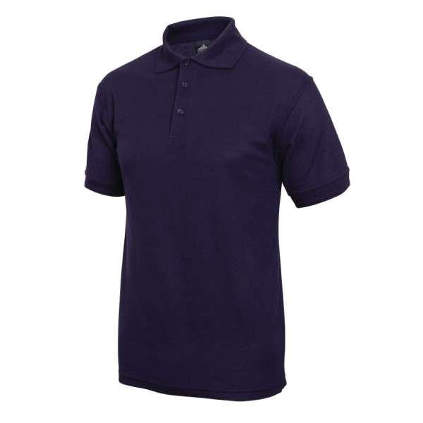 Poloshirt dunkelblau Größe: L