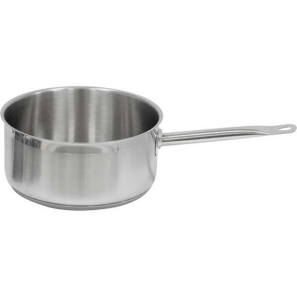 Stielkasserolle ohne Deckel, Ø 200 mm, Höhe 105 mm, 3,3 Liter
