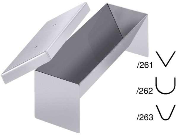 PASTETENFORM KLASSISCHE FORM, Länge: 26 cm