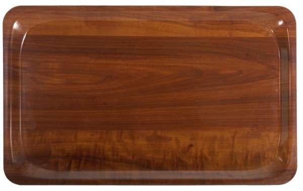 TABLETT, GN 1/1,NUSSBAUM DEKOR Länge: 53 cm