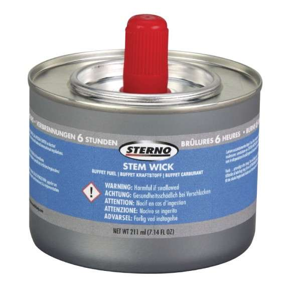 Sterno Chafing Gel Fuel - 6 Hour Burn Tin (Box = 36 Stück)