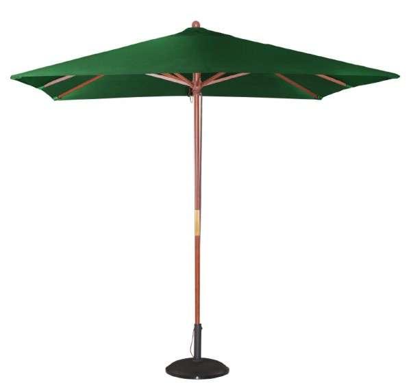 Bolero Quadratischer Sonnenschirm 2,5m breite Grün