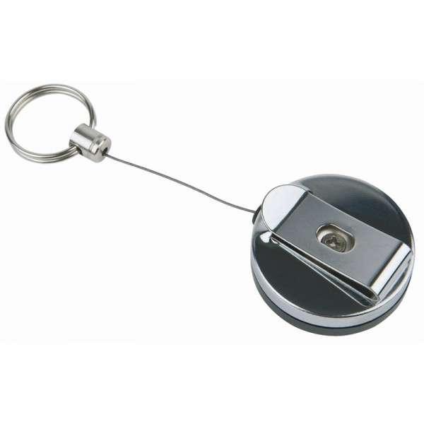 Edelstahl Karten-/Schlüsselhänger