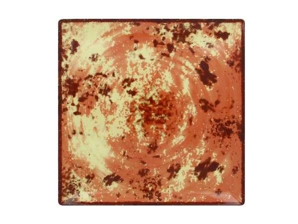 TELLER FLACH 30 cm - BROWN