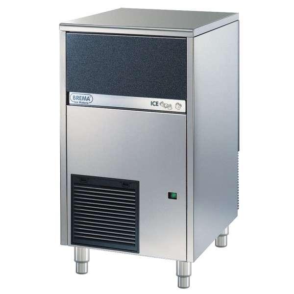 BREMA Eiswürfelbereiter Luftgekühlt, 46kg/24h, Abmessung 500 x 580 x 800 mm (BxTxH)