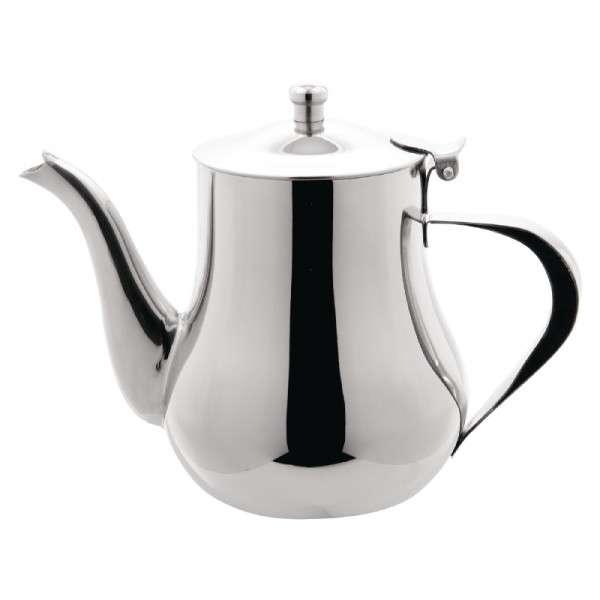 Arabische Edelstahl-Teekanne 1,0 l